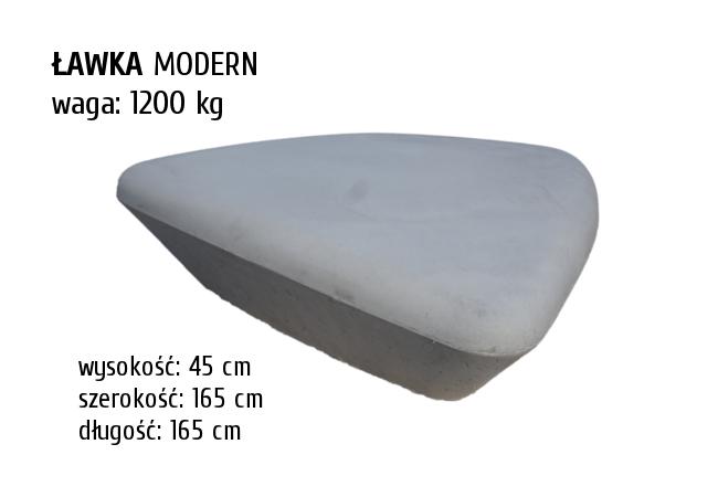 Ławka-Modern